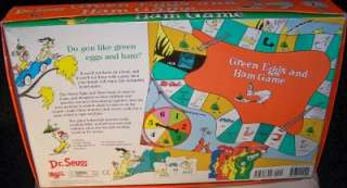 GREEN EGGS AND HAM GAME