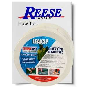 Roofseal with Reese Tips Roof Repair Guide: Home Improvement