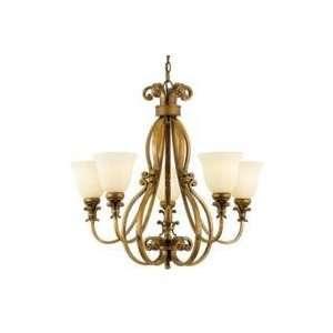 Quoizel Gabrielle Five Light Chandelier Gold   GB5005PI
