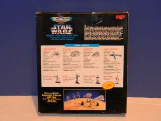 STAR WARS MICRO MACHINES REBEL FORCES GIFT SET MISB