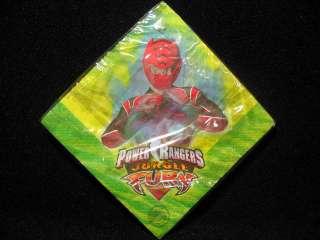 Power Rangers Jungle Fury Birthday Party Supplies Plates Napkins