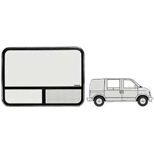 CRL Accent Frame T Slider Window   Side Door 1985+ Chevy