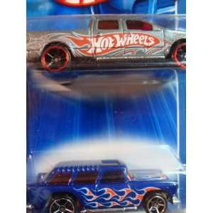 Hot Wheels 2009 Ford F 150 Pick Up Truck FTE   55 Chevy