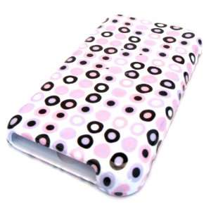 Apple Ipod Touch 1st 1G Generation Pink Polka Dots Circle