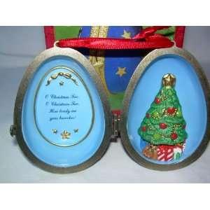 Ornament Christmas Tree Surprise Fine Porcelain