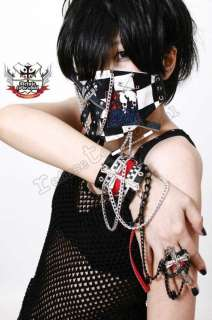 GOTHIC DOLL Gackt/JrockPunk/Visual Kei/CHECK CUFF+RING