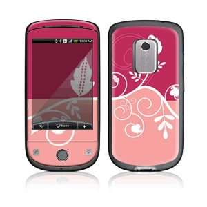 Pink Abstract Flower Decorative Skin Cover Decal Sticker