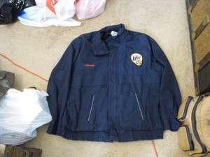 Miller Lite Beer Delivery Mans Blue Jacket, Size L/xl, Large Beer
