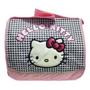 Sanrio Hello kitty Friends Messenger Bag   Checkered Print