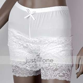 Fashion Cute Women Lady XS S Junior Girls 3 Layer Lace Short Pants
