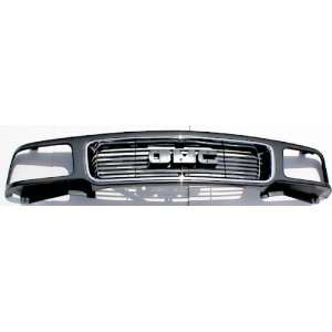 Chrome and Gray Grille 1995 1996 1997 GMC Jimmy SONOMA Pickup 95 96 97