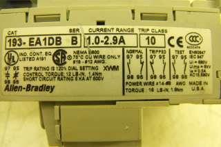 Allen Bradley Contactor & Relays Combo C# 100 C12Z*10