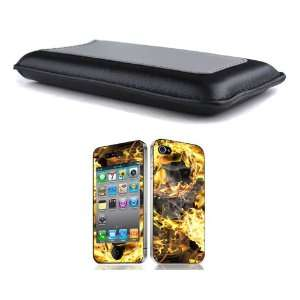 Bundle Monster Synthetic Leather Case Cover Pouch + Skin