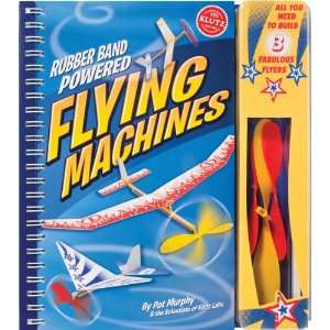 Rubber Band Powered Flying Machines Kit