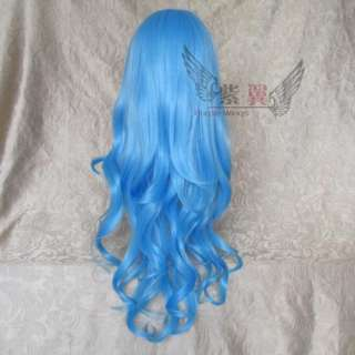 80 cm Fashion Anime Cosplay Long & Curly Party Hair Wig In Various