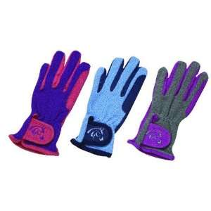 Pony Palooza Childs Embroidered Stretch Glove Sports