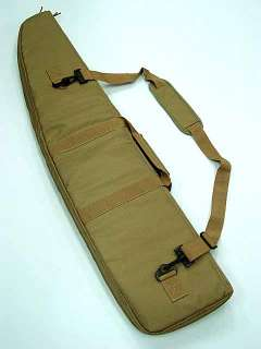 40 Tactical AEG Rifle Sniper Case Gun Bag Coyote Brown