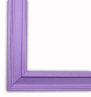 Classic French Lilac Picture Frame Solid Wood