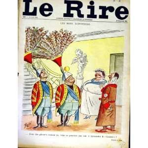 LE RIRE (THE LAUGH) FRENCH HUMOR MAGAZINE WAR HITLER: Home & Kitchen