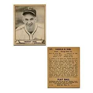 Muddy Ruel 1940 Play Ball Card