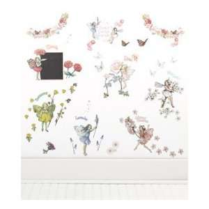 flower fairies party wall stickers