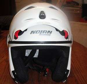 NOLAN FULL FACE HELMET WHITE. N100