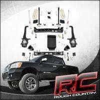 04 09 Nissan Titan 6 Suspension Lift Kit 4x4