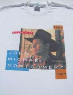 vintage JOHN MICHAEL MONTGOMERY 1994 tour XL T SHIRT
