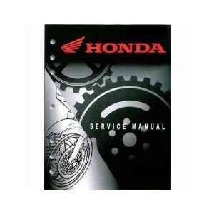 1998 2003 Honda Service Manual: VT750C / CD / CD 2 Shadow