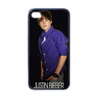 New Apple iPhone 4 Hard Case Cover Justin Bieber world