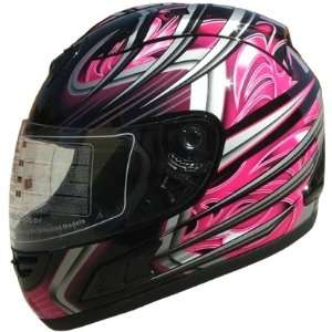 Face Sports Motorcycle Helmet DOT (508) 169 Pink