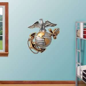 : USMC Fathead Wall Graphic Eagle, Globe, & Anchor: Sports & Outdoors