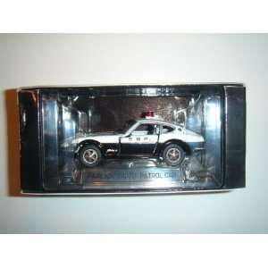 Tomy Tomica Limited Nissan Fairlady 240ZG Patrol Car White