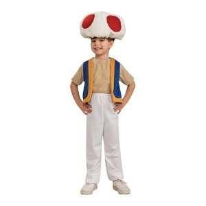 Mario Bros Toad Child Costume Toys & Games