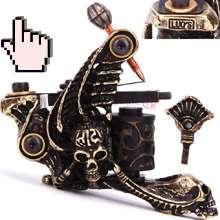 Custom Handmade Tattoo Machine Shader Gun Old School