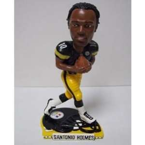 Santonio Holmes Pittsburgh Steelers Helmet Base Bobblehead