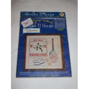 Needles N Hoops Needlework Tennis Sampler No. 193 Everything Else