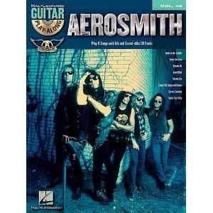 Aerosmith Classics   Guitar Play Along Volume 48   Book