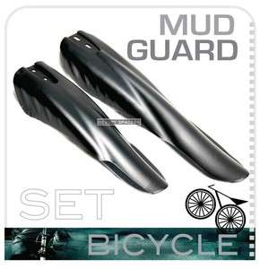 Front Rear Mountain Bike Bicycle Mud Guard Mudguard MTB