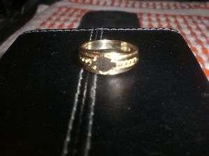 HARLEY DAVIDSON STAMPER GOLD WOMENS WEDDING RING BAND