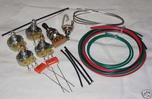 DIY 2 Humbucker Wiring Harness Kit   #KI HB1 CTS