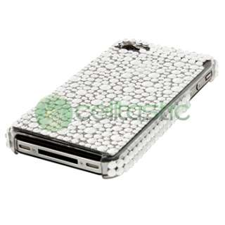 2X BLING CRYSTAL HARD Case Skin COVER FOR Apple iPhone 4 4G 4S Gen
