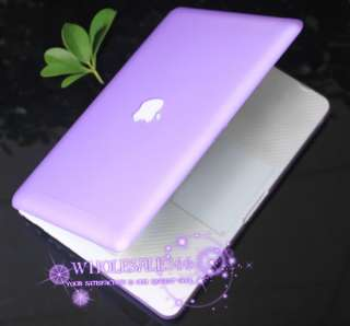 For New Apple Macbook White 13 A1342 Rubberized Laptop Hard Case