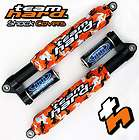 Orange Morning Wood Camo Shock Covers Polaris Rush Pro R 600 800