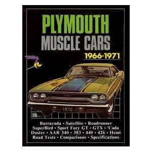 Plymouth Muscle Cars 1966 1971 (Brooklands Books Road Tests Series