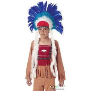 Childrens Full Indian Costume Headdress: Toys & Games
