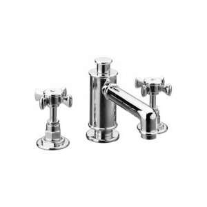 La Torre 3 Hole Widespread Lavatory Faucet with Pop Up Waste 25001 CHR