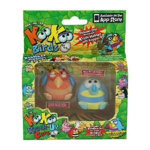 Zoo Flocked Birds 2 Pack   Mudskipper and Dooselfink: Everything Else