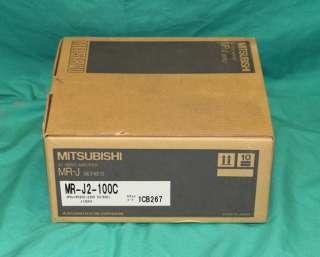 Mitsubishi MR J2 100C AC Servo Amplifier Drive melservo