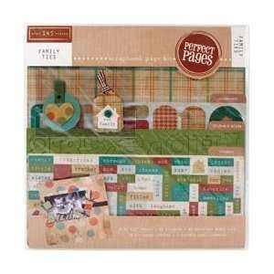 Colorbok Family Ties Page Kit 12X12 45309; 2 Items/Order
